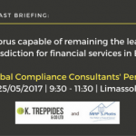 Is Cyprus capable of remaining the leading jurisdiction for financial services in EU? Your Global Compliance Consultants' Perspective