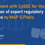 Announcement on conclusion of a second agreement with CySEC for the provision of expert regulatory services by MAP S.Platis